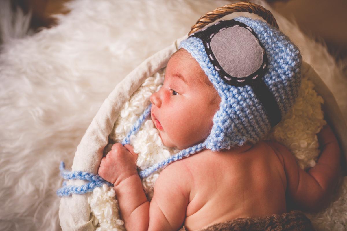Hector a los 14 días de su nacimiento