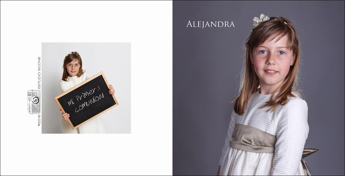 Alejandra / Sesión de comunión en estudio