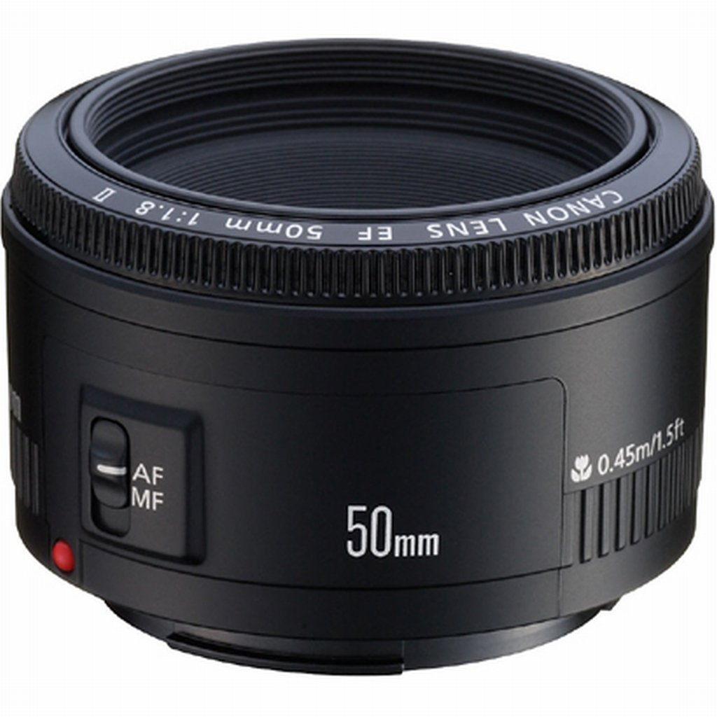 Un Canon EF 50mm f/1.8 por 140,00 €