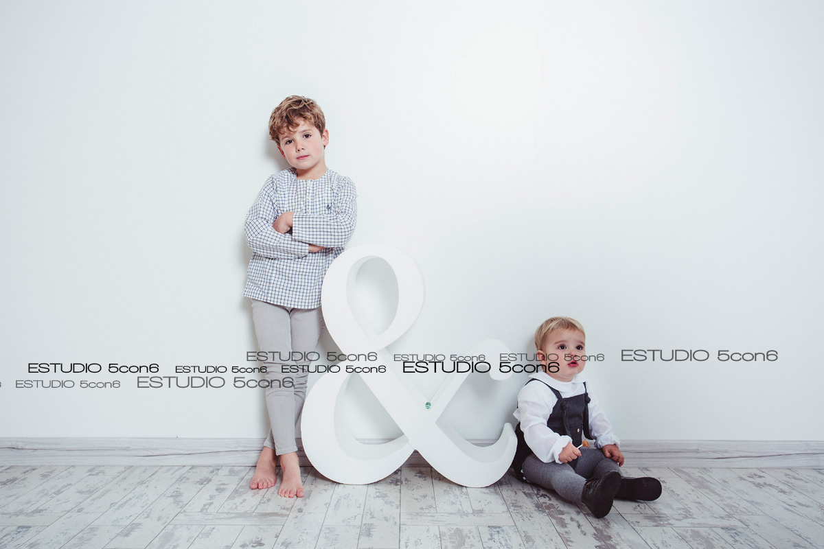 Sesión infantil con Diego y Gonzalo