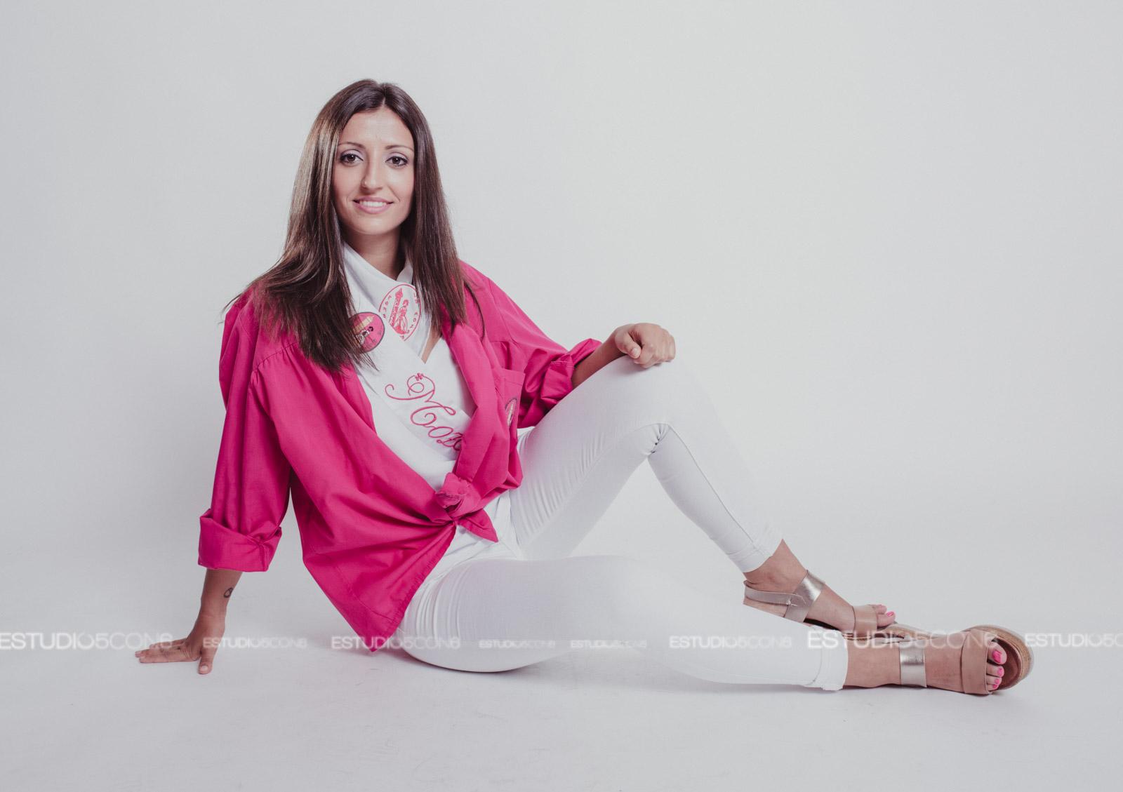 ANDREA, REINA PEÑA LA MOZA 2017-2018