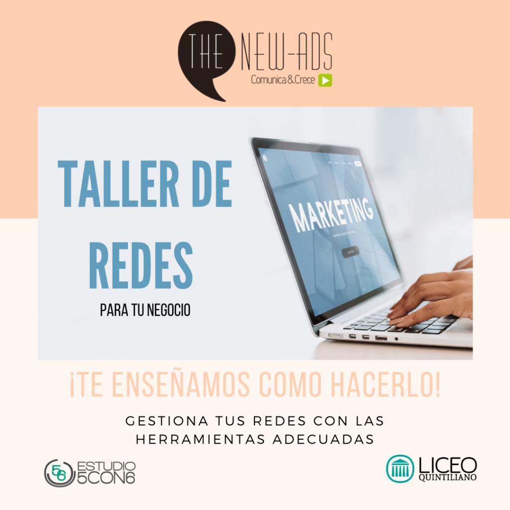 TALLER DE REDES SOCIALES PARA EL PEQUEÑO NEGOCIO