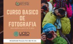 CURSO BÁSICO DE FOTGRAFÍA